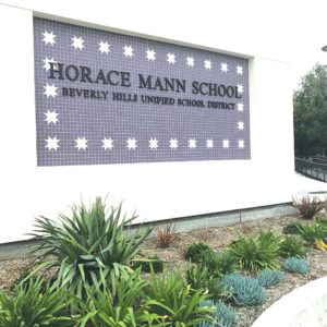 Horace Mann has benefitted from Measure E funds. (photo by Luke Harold)