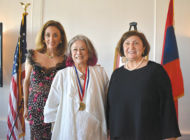 Leader in Armenian-American community recognized