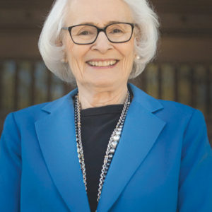Jean Picker Firstenberg, president emerita of the American Film Institute, will discuss the organization's history and legacy at the historic Doheny Greystone Mansion. (photo courtesy of the Friends of Greystone)