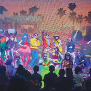 """The touring production of """"Just Dance Live"""" has already made stops in Miami, Chicago and Houston, and will be in Los Angeles at the end of March. (photo courtesy of """"Just Dance Live"""")"""