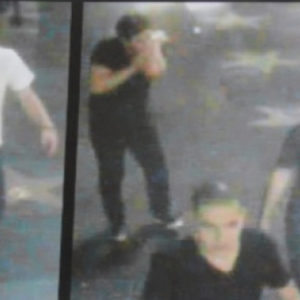 Police released a security camera image of the suspects shortly after the attack in Hollywood. (photo courtesy of the LAPD)