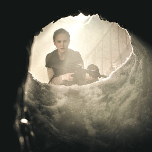 """Lena (Natalie Portman) joins an expedition as part of her search for a cure for her husband in """"Annihilation."""" (photo courtesy of Paramount Pictures)"""