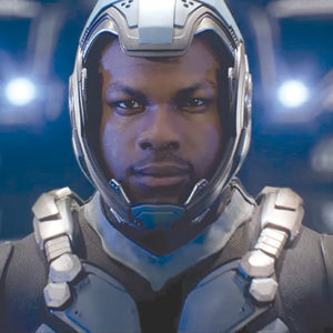 "John Boyega, as Jake Pentecost, is the best part of ""Pacific Rim: Uprising."" (photo courtesy of Warner Bros. Pictures)"