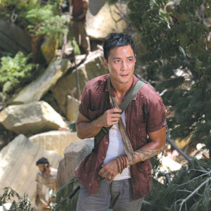 "Daniel Wu appears as Lu Ren in ""Tomb Raider."" (photo courtesy of Warner Bros. Pictures)"