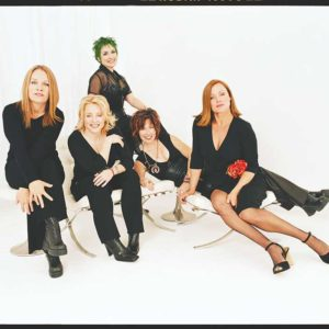 The Go-Go's will perform with all five original members at the Bowl this summer for the July 4 fireworks show. (photo courtesy of LA Phil)