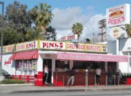 Tickled pink on La Brea