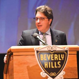 Councilman John Mirisch, elected to his third term on the City Council last year, became the new vice mayor on Tuesday. (photo courtesy of the city of Beverly Hills)