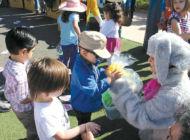 Blind Children's Center holds beeping egg search