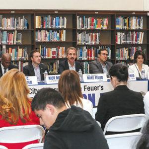 Feuer launches School Safety Blue Ribbon Panel - Park Labrea