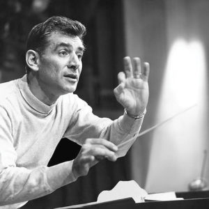 "Leonard Bernstein composed music for ""West Side Story,"" ""Peter Pan,"" ""Candide"" and ""On the Town."" (photo courtesy of the Leonard Bernstein Office, Inc.)"