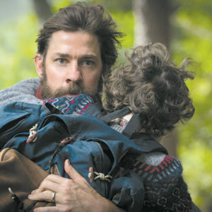 "John Krasinski stars as Lee Abbott in ""A Quiet Place,"" a new horror film that breathes new life into the genre. (photo courtesy of Paramount Pictures)"