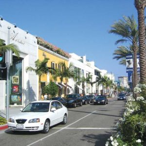Businesses along Rodeo Drive in Beverly Hills have faced increased competition from neighboring shopping complexes. (Park Labrea News/Beverly Press file photo)