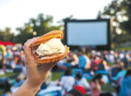 Enjoy outdoor movies, food and music at Poinsettia Park