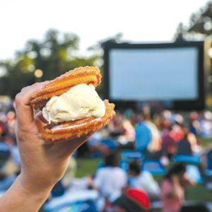 "Churro Stix sandwiches were a favorite at a previous installment of ""Street Food Cinema."" (photo courtesy of Street Food Cinema)"