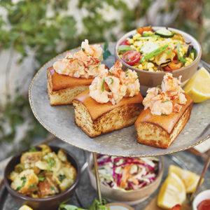 Enjoy a platter of picnic seafood at the Hollywood Bowl this season. (photo courtesy of LA Phil)