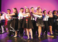Conga Kids dance in spring championship