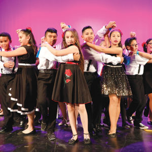 Conga Kids offers a dance program that develops students' creativity and sets a foundation of respect, teamwork, confidence and leadership. (photo courtesy of The Tatum Wan Co.)