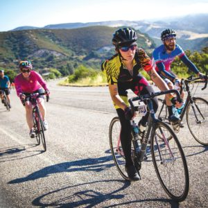 Over the course of seven days, riders in the AIDS/LifeCycle will bike from San Francisco to Los Angeles to raise funds for medical services at the San Francisco AIDS Foundation and Los Angeles LGBT Center. (photo courtesy of Gil Diaz)