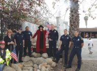 Fire Station 29 gets new drought-tolerant garden
