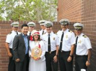 LAFD honors benefactor as honorary fire chief