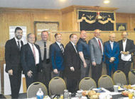 Dignitaries join Congregation Bais Naftoli for 26th anniversary Breakfast