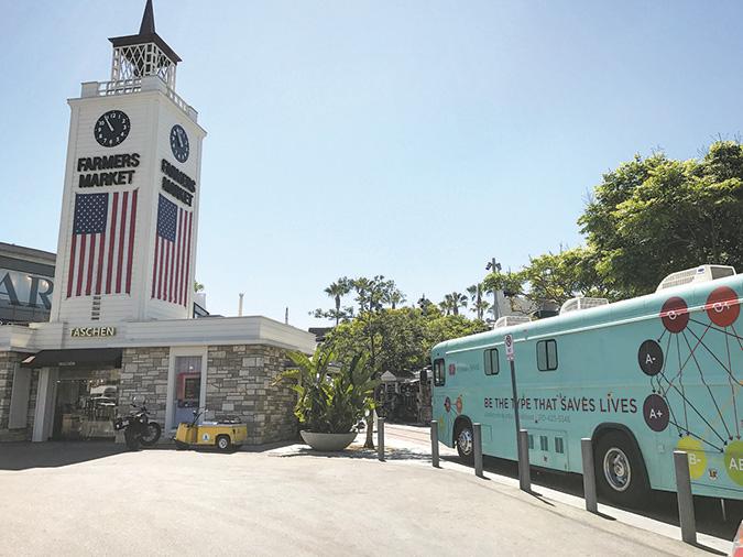 Farmers Market, Cedars-Sinai to host blood drive - Park