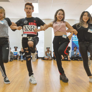 Singers and dancers are welcome to participate in the free K-Pop Dance & Vocal Academy hosted by Korean Cultural Center, Los Angeles and the Musicians Institute. (photo courtesy of KCCLA)