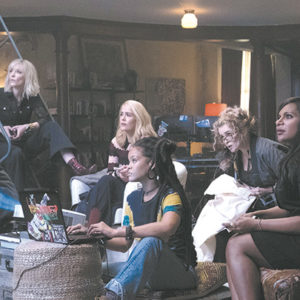 "The whole team prepares for a big heist in ""Ocean's 8,"" the latest film in the ""Ocean's"" series. (photo courtesy of Warner Bros. Pictures)"