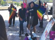 Students rally to support LGBTQ classmates