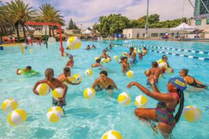 City swimming pools offer a place to cool off, have fun and learn new swimming skills. (photo courtesy of the 13th Council District Office)