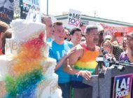Pride Parade is a piece of cake