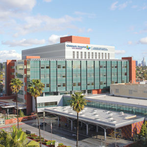CHLA's emergency department is currently serving nearly double the number of patients it was designed to accommodate. The gift will help the hospital expand operations. (photo courtesy of CHLA)