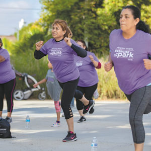 Residents can join free exercise programs offered by the Cedars-Sinai Healthy Habits program. (photo courtesy of Cedars-Sinai Medical Center)