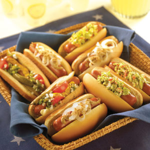 photo courtesy of the National Hot Dog and Sausage Council