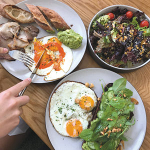 Paramount Coffee Project in DTLAserves up Cali-Aussie cuisine. (photo by Jill Weinlein)