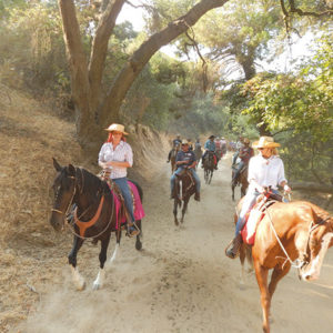 Ride the trails of Griffith Park and enjoy a barbecue while supporting Life Group LA programs for people with HIV/AIDS. (photo courtesy of Life Group LA)