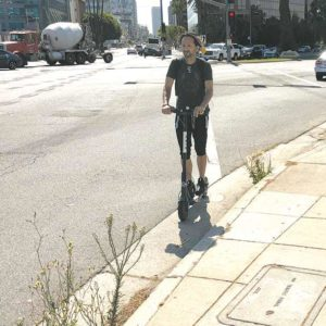The ban will last up to six months as the city works with the scooter companies on regulations and safety measures. (photo by Luke Harold)
