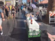 Street vendors cleared from Hollywood Walk of Fame