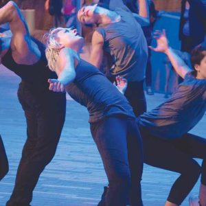 """Get a close-up look at Strange & Elegant Dance during The Music Center's """"Moves After Dark."""" (photo courtesy of Luke Rothschild)"""