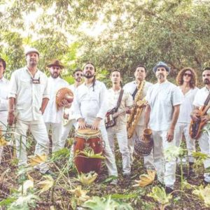 """Jungle Fire performs on July 22 as part of West Hollywood's """"Summer Sounds"""" series. (photo courtesy of the city of West Hollywood)"""