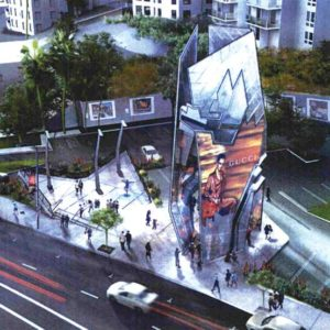 Some West Hollywood residents and council members have said they are concerned about the size of the project. Many other residents voiced their support for the current design at the council's July 16 meeting. (rendering courtesy of the city of West)