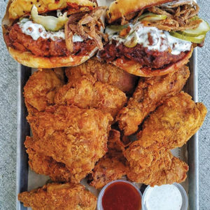 One taste and you'll discover why The Crack Shack's fried chicken is all the rage. (photo courtesy of The Crack Shack)