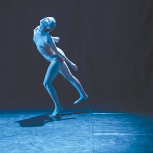 """Stephanie Zaletel, artistic director of szalt (dance co), stars in """"moon&"""" at the Ford Theatres. (photo by Gema Galiana)"""