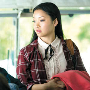 "Lana Condor stars as Lara Jean in ""To All the Boys I've Loved Before,"" a film exploring the nuances of growing up. (photo courtesy of Netflix)"