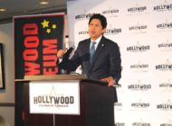 Kevin de Leon addresses Hollywood Chamber