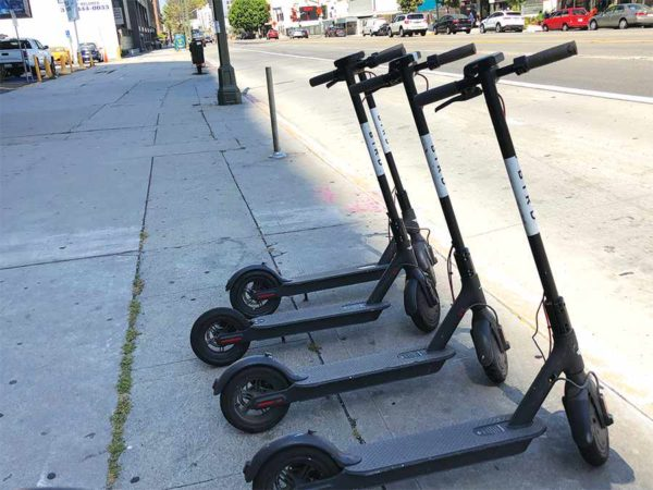 Beverly Hills cited safety concerns when renewing the scooter ban. (Park Labrea News/Beverly Press file photo)