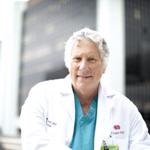 Dr. Raymond Schaerf specializes in removing wires from old or malfunctioning defibrillators and pacemakers. (photo courtesy of Cedars-Sinai Medical Center)