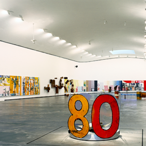"""LACMA's upcoming """"Robert Rauschenberg: The 1/4 Mile or 2 Furlong Piece"""" exhibit includes the artist'smonumental work consisting of 190 panels. (photo courtesy of LACMA)"""