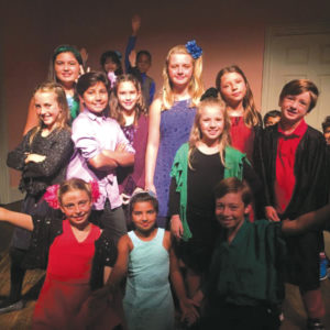 Participants in the Santa Monica Playhouse's Theatre Camp learn a variety of production skills and create a mini-play. (photo courtesy of the Santa Monica Playhouse)