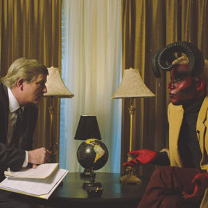 """""""A Conversation with the Devil,"""" written and directed by Jonathan I. Jackson, will screen at this year's Short+Sweet Hollywood Film Festival. (photo courtesy of Short+Sweet Hollywood Film Festival)"""